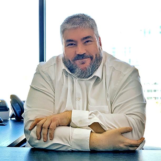 Portrait Martin Proteau conseiller en insolvabilité